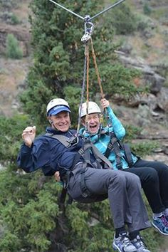 ZIPPERS OF THE WEEK - These two sure know how to have a good time! Plan your adventure today! www.ZipAdventures.com