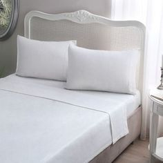 Give your bedding a soft and smooth makeover with the Jersey Knit Cotton Sheet Set from Braille. Complete with coordinating pillowcases and available in a variety of trendy hues, this cozy sheet set… Best Egyptian Cotton Sheets, Best Cotton Sheets, Best Bed Sheets, Cotton Sheet Sets, Queen Sheets, Cotton Bedding, Mattress, Pillow Cases, Bedroom