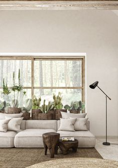 One easy and fun way to interior design your home is by caring for houseplants. Never think that interior designing … Interior Design Your Home, Interior Design Inspiration, Interior Design Living Room, Living Room Designs, Interior Designing, Zen Living Rooms, Living Room Decor, Zen Interiors, Behance