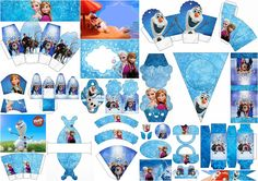 Frozen Free Printable Party Kit.