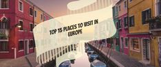 Looking for a dream destination to explore European countries on your next holiday? Here is your selection of the best places to visit in Europe. Europe Tourism, Cheap Places To Visit, Honeymoon Packages, Next Holiday, European Countries, Group Tours, The Good Place, London, Explore