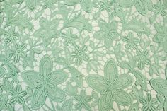 Embroidery Guipure lace fabric ( chemical venetian lace textile) in 10 color on Etsy, $32.90