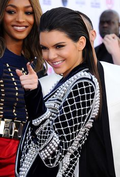Kendall Jenner in Balmain at the #BBMA15