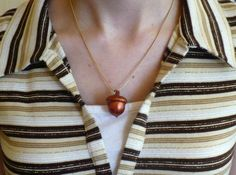 Craft tutorial: how to make an acorn necklace