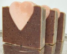 Organic Heart Soap by Etta and Billie