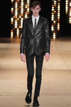 Saint Laurent Fall 2014 Menswear - Collection - Gallery - Style.com