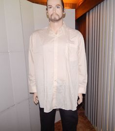 Haband mens dress shirt long sleeves new without tags sz 19XL career #Haband