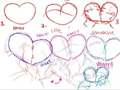 Drawing smooches ★ || CHARACTER DESIGN REFERENCES™ (https://www.facebook.com/CharacterDesignReferences & https://www.pinterest.com/characterdesigh) • Love Character Design? Join the #CDChallenge (link→ https://www.facebook.com/groups/CharacterDesignChallenge) Share your unique vision of a theme, promote your art in a community of over 50.000 artists! || ★