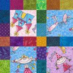 Framed Squares Are Perfect for a Baby or Toddler Quilt: How to Make Scrappy Framed I Spy Quilt Blocks