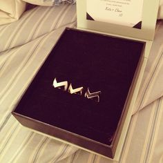 Gold ZigZag Stacking Ring - JewelMint