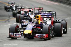 Sebastian Vettel, Red Bull, Monte-Carlo, 2014