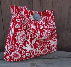 My new diaper bag made by my friend Lora ... check out her site on Etsy - BagsByLora