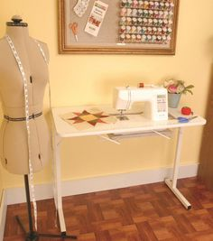 The Sew Much More Craft & Hobby Table
