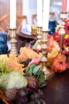 Home With Keki: Vintage Inspired Thanksgiving Tablescape