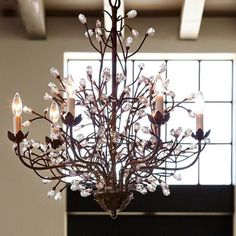 How To Make A Twig Chandelier Best Of Chandelier Branches Aliexpress Vintage Crystal Chandelier, Cheap Chandelier, Luxury Chandelier, Outdoor Chandelier, Iron Chandeliers, Rustic Chandelier, Antique Lighting, Chandelier Lighting, Retro Chic