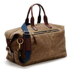 Earnest Alexander - British Tan Wax Overnight Bag