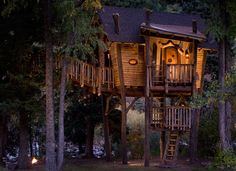 I always wanted to live in a tree house! Small and Artistic Tree House Design by Green Line Architects - DesignToDesign Magazine - DesignToDesign.com , The Ultimate Online design Magazine