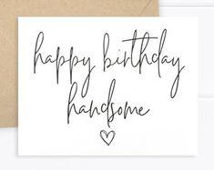 Free Happy Birthday Cards, Happy Birthday Printable, Birthday Wishes For Him, Birthday Poems, Happy Birthday My Love, Birthday Cards For Boyfriend, Happy Birthday Messages, Happy Birthday Quotes, Husband Birthday