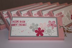 SU - Etui mini tablette chocolat - petite petals - bouquet de ballons
