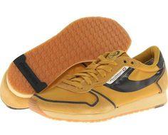 Diesel Great Era Pass On Men's Shoes Nugget Gold/Black : 8.5 D - Medium