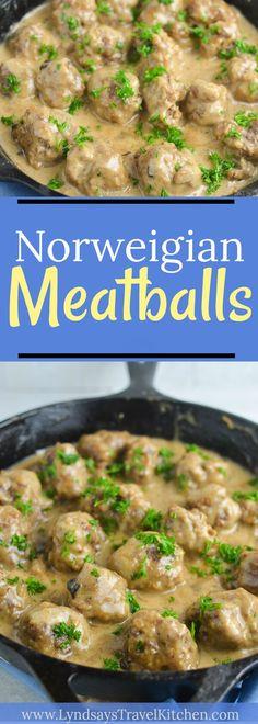 Learn how to make Norwegian Meatballs!