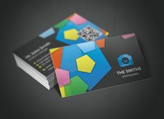 Photography Studio Business Card by Rafael Oliveira on Creative Market -> http://crtv.mk/p096G
