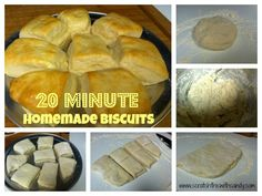 20 Minute Homemade Biscuits