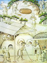 medieval glass furnace - Google Search