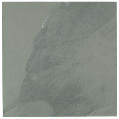 Fired earth urban slate Grey green per per tile) Bathroom Shop, Family Bathroom, Master Bathroom, Fired Earth, Slate Flooring, Wall And Floor Tiles, Polished Concrete, House Entrance, Industrial Chic