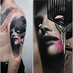#Tattoo by @timur_lysenko #⃣#Equilattera #tattoos #tat #tatuaje #fortlauderdale #tattooart #tattoolife #tattoodesign #miamitattoo #miami #mia #florida #awesome #life #love #miamibeach #ink #art #design #dark #illustration #colors #color #painting #colorful #girl #psychedelic #portrait