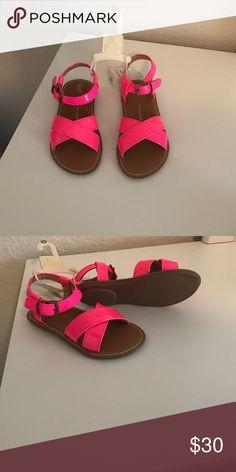 Girl sandal That's at pink cute girl sandal. GAP Shoes Sandals & Flip Flops