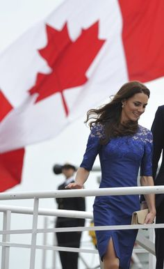 Duchess of Cambridge I don't care what anyone says- the Royals are still our monarch as Canadians- she will be our queen one day! What a great shot.