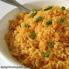 restaurant style Mexican rice..I've been looking for a recipe that tastes like it came from Monterrey!