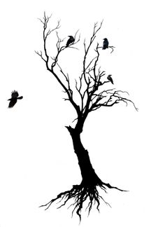 tree tattoo small - Google Search