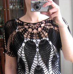 pineapple crochet.. # inspiration ♣  http://pinterest.com/gigibrazil/crochet-and-knitting-lovers/
