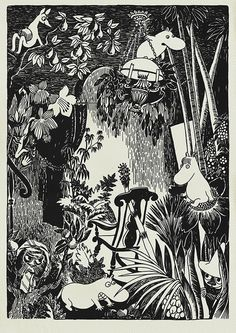 The Moomins by Tove Jansson.