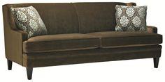 Kingston Traditionally Styled Sofa in Smooth Settee Style by Stylus - Stoney Creek Furniture - Sofa Toronto, Hamilton, Stoney Creek, Ontario