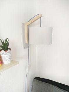 Lampe murale DIY très simple à réaliser