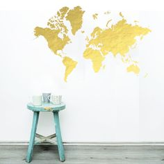 World map stencil plastic reusable painting art supply wall it is time for an adventure where will you go the world is at your feet or on your wall or table use with chalkboard paint for a kids playroom gumiabroncs Images