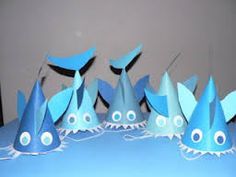 shark hat craft - Google Search