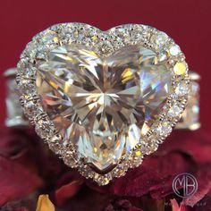 Stunning 4.00ct Heart Shaped Diamond Ring                                                                                                                                                     More