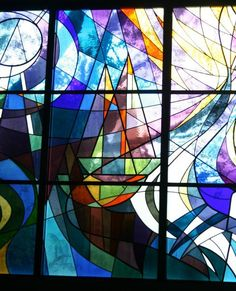 Stained Glass Windows for Beth Sholom Congregation by Ascalon Studios by toksook, via Flickr