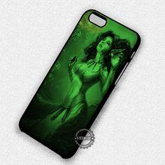 Vintage Mermaid Painting Ocean Sea  - iPhone 7 6s 5c 4s SE Cases & Covers