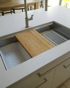 This is the Kohler Prolific kitchen sink we just installed. Great way to…