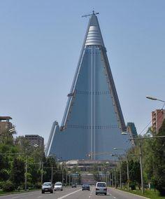 Ryugyong-Hotel Pyongyang North Korea