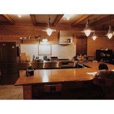 Kitchen/無印良品/照明/IKEA/ダイニング/ダイニングキッチン...などのインテリア実例 - 2016-01-14 11:15:52 | RoomClip (ルームクリップ)