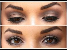 NEW Urban Decay Naked Smoky Palette Tutorial - YouTube