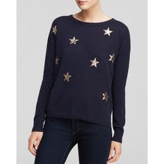 Quotation Sweater - Leather Star Cashmere - Bloomingdale's Exclusive and other apparel, accessories and trends. Browse and shop related looks.