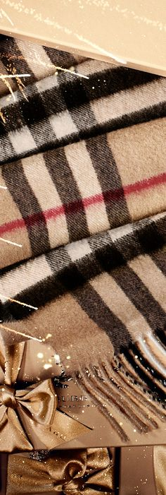 Soft Burberry cashmere scarves for someone special this Lunar New Year