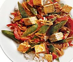 Thai Red Curry with Chicken & Vegetables